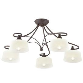 image-Williamsdale 5-Light Shaded Chandelier Ophelia & Co.