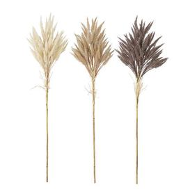 image-Artificial dried flowers - / Set of 3 - H 80 cm by Bloomingville Brown/Beige