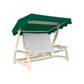 image-Alexander Rose Acrylic Royal Swing Seat Canopy Green
