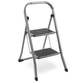 image-2-Step Steel Step Stool with 330 lb. Load Capacity VonHaus