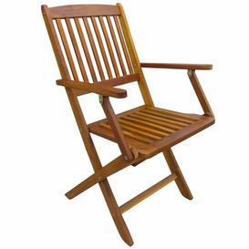 image-Bevers Folding Garden Chair Dakota Fields