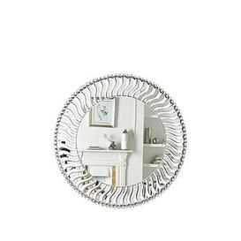 image-Wave Round Wall Mirror