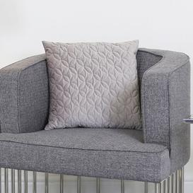 image-Redmayne Cushion Cover Fairmont Park Colour: Grey