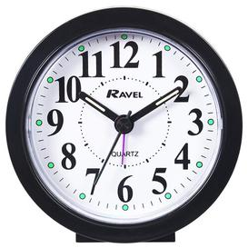 image-Analog Quartz Alarm Tabletop Clock Ravel