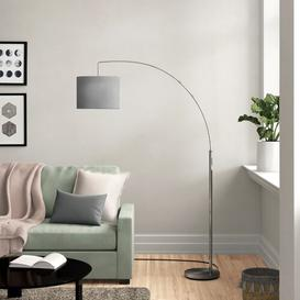 image-Anna 180 cm Arched Floor Lamp Zipcode Design Colour: Grey/Brown/Blue