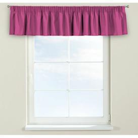 image-Jupiter Curtain Pelmet Dekoria Size: 130cm W x 40cm L, Colour: Pink