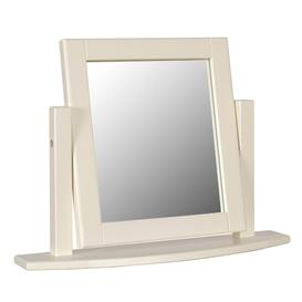 image-Lundy Painted Oak Furniture Dressing Table Mirror