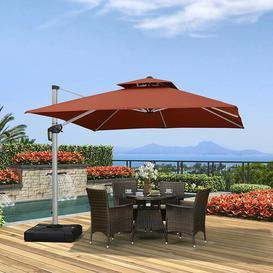 image-Steve 3m Square Cantilever Parasol Freeport Park