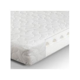 image-Airwave PU Foam Cotbed Double Mattress In White