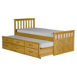 image-Pajama Guest Bed with Trundle Brambly Cottage