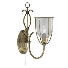 image-Gertrude 1-Light Candle Wall Light ClassicLiving