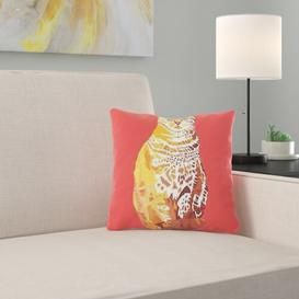image-Ladner Scatter Cushion Happy Larry Size: 38 x 38cm