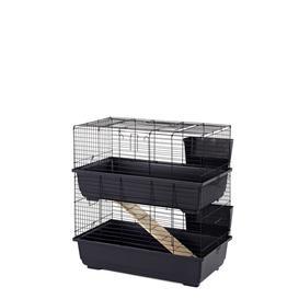 image-Denning Rabbit Cage with Ramp