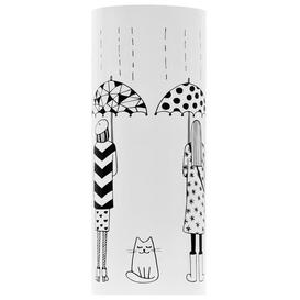 image-Rumsey Umbrella Stand Ebern Designs Colour: White