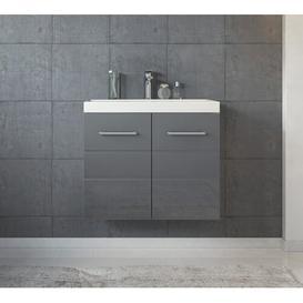 image-Lorena 600mm Wall Hung Single Vanity Unit Belfry Bathroom