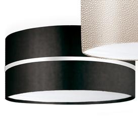 image-Aros 2X 2 Light Flush Light ElTorrent Shade Finish: ANG