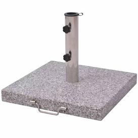 image-Stone and Steel Free Standing Umbrella Base Freeport Park
