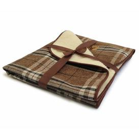 image-Newton Truffle Throw in Brown Danish Design