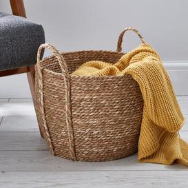 image-Rush Natural Storage Basket Natural