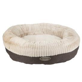 image-Ellen Bolster Cushion Scruffs Size: 15cm H x 75cm W x 75cm D, Colour: Charcoal/Ivory