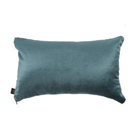 image-Amelie Lumbar Velvet Cushion with filling Ebern Designs Colour: Teal
