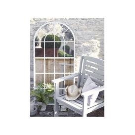image-Outdoor Arched Window Mirror