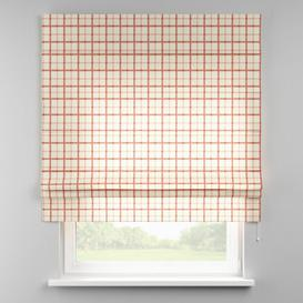 image-Avinon Blackout Roman Blind Dekoria Size: 130cm W x 170cm L, Finish: Cream/Red
