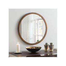 image-Yearn Classic Circle Bronze Mirror Brown