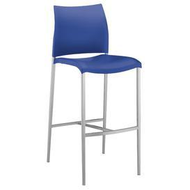 image-Ashima 80cm Bar Stool Sol 72 Outdoor Colour: Blue