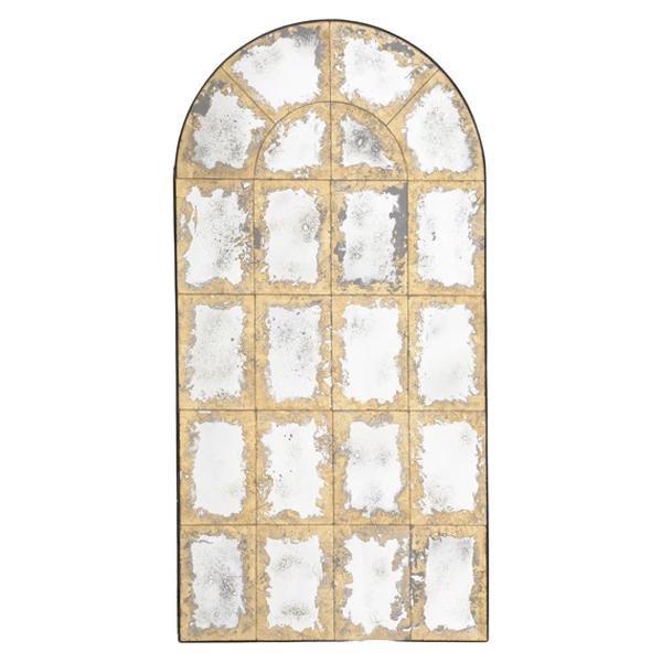 image-Libra Valeria Antique Arched Mirror