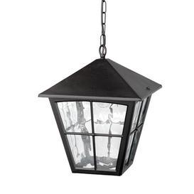 image-Elstead BL38 Edinburgh exterior black hanging porch lantern, IP20