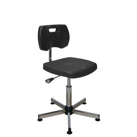 image-Glastbury Draughtsman Chair Brayden Studio Colour: Black