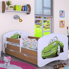 image-Mapleton Cot Bed / Toddler (70 x 140cm) Bed Frame with Drawer Isabelle & Max Colour (Bed Frame): Light Brown