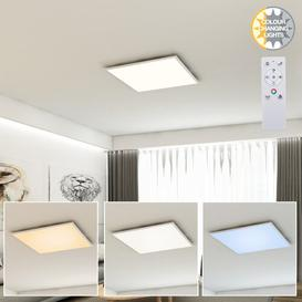 image-Midvale 1-Light LED Semi Flush Mounth Ebern Designs