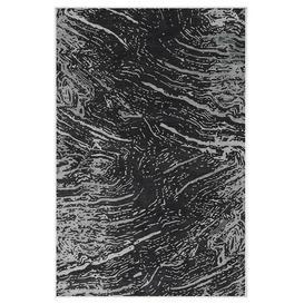 image-Kaison Black Indoor/Outdoor Rug Metro Lane Rug Size: Runner 80 x 200cm