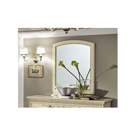 image-Camel Torriani Night Ivory Italian Rectangular Mirror