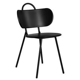 image-Swim Chair - Indoor & outdoor - Metal by Bibelo Black