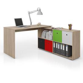 image-Pottsville Writing Desk Mercury Row Colour: Sonoma oak