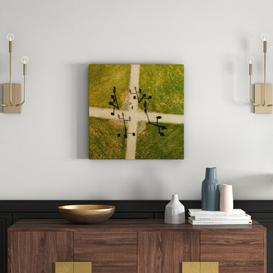 image-'Weather Vanes' by Karolis Janulis Framed Photographic Print on Wrapped Canvas East Urban Home Size: 61 cm H x 61 cm W x 3.81 cm D