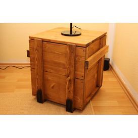 image-Southgate Stylish Cargo Side Table with Storage