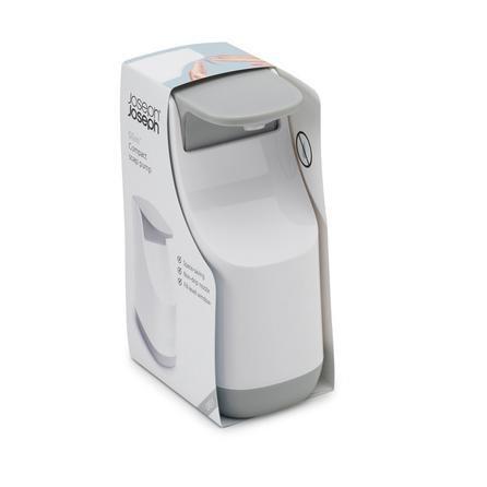 image-Joseph Joseph Grey Compact Soap Dispenser Grey