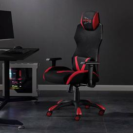 image-Speedster Ergonomic Mesh Gaming Chair Blue Elephant
