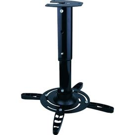 image-Height-Adjustable Ceiling Mount for Projector Symple Stuff Colour: Black