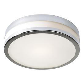 image-Dar CYR5250 Cyro Small Flush Chrome Bathroom Ceiling Light IP44 Rated