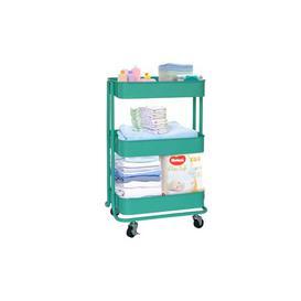 image-Felices Serving Cart Ebern Designs Colour: Turquoise