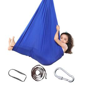 image-Children Swing Hammock Hanging Chair Indoor Swing Elastic Hammock Swing,