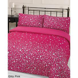 image-Andenne Duvet Cover Set Canora Grey Size: Double - 2 Standard Pillowcases, Colour: Pink