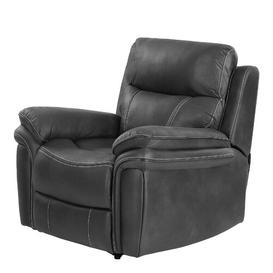 image-Adalynn Manual Recliner Zipcode Design Upholstery: Charcoal Grey