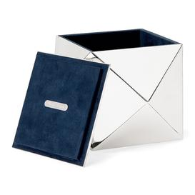 image-Ralph Lauren Home - Raina Box - Silver