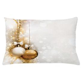 image-Jolyon Christmas New Years Ribbon Outdoor Cushion Cover Ebern Designs Size: 40cm H x 65cm W